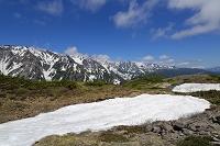 長野県 八方池と後立山連峰
