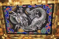 栃木県 日光東照宮 龍の天井絵