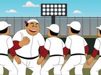 野球のイラスト