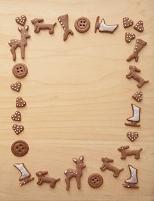 ジンジャークッキーのフレーム