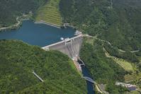 神奈川県愛甲郡 宮ヶ瀬ダムの空撮