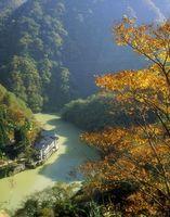 秋の大牧温泉