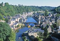 フランス ブルターニュ地方の街並み