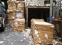 古紙のリサイクル 回収された古紙 東京都 府中市