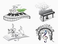 イラスト 音楽のイメージ