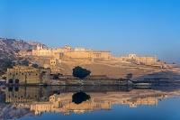 インド ジャイプル アンベール城 外観