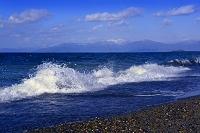 滋賀県 湖北の荒波