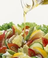 野菜サラダとドレッシング