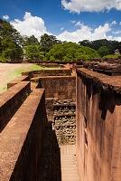 カンボジア アンコール・トム遺跡 癩王のテラス