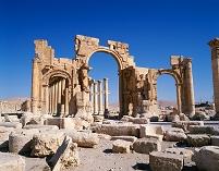 シリア パルミラ 記念門