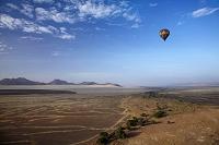 ナミビア ナミブ砂漠 気球