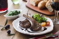 子羊のソテー バルサミコソース