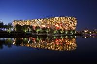 中国 北京国家体育場 (ヘルツォーク&ド・ムーロン設計)