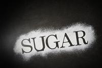 粉砂糖のSUGARの文字