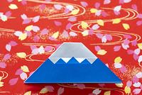 折り紙の富士山