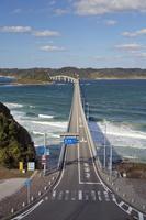 山口県 角島へと続く角島大橋