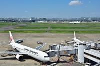 羽田空港 JAL B767-300