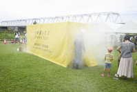 防災訓練 ‐ 避難訓練・煙体験ハウス