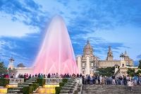 スペイン バルセロナ 噴水