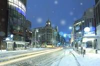 東京都 銀座四丁目の夜景