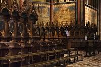 サン・フランチェスコ聖堂 上堂 聖職者祈祷席