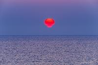 北海道 猿払村 オホーツク海 だるま太陽