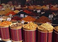 トルコ アンカラのドライフルーツ店