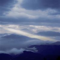 山梨県 富士山 櫛形山から