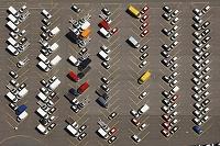 ドイツ 駐車場 空撮
