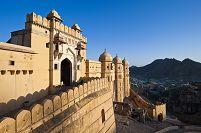 インド アンベール城