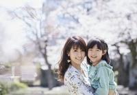 日本人親子