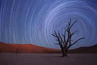 ナミビア 星空