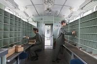 北海道 小樽市総合博物館 郵便荷物客車 区分室