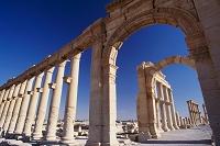 シリア パルミラ 列柱アーチ (1999年)