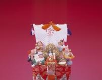 宝船の上の七福神