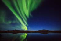 カナダ 極北に舞うオーロラ