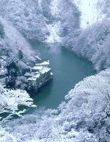 雪の大牧温泉