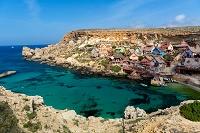 マルタ ポパイ村と地中海