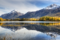 アラスカ チュガッチ山地