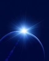 球体と光 CG