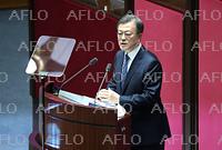 韓国大統領、国会で施政方針演説