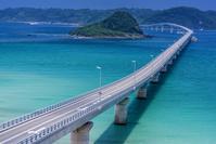 山口県 下関市 角島大橋と角島