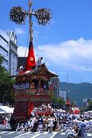 京都府 祇園祭 山鉾巡行