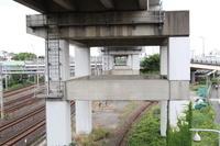 東京都 JR田端~東十条駅 新幹線高架橋の耐震補強(8割完了)