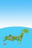 日本地図で観光地巡り