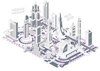 ブロックタウン未来都市 B-1-2-3-4-5-6