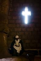 エチオピア 聖マルコリオス教会 祭司