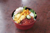 北海道 利尻島の海鮮丼