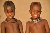 ヒンバ族の女の子