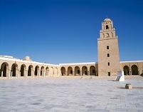チュニジア カイルアン グランドモスク ミナレット